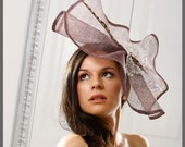 Kentucky Derby Hat.Couture Fascinator. Exclusive Design.