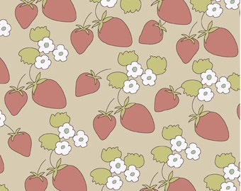 Strawberry Patch Natural from Locally Grown by Marissa and Creative Thursday - One Yard