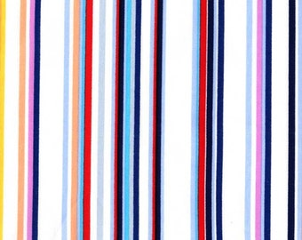 Paintbox Stripe Primary from Cynthia Rowley 1 Yard Cut