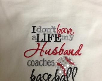 Baseball Wife Shirt
