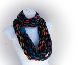 Chain scarf, infinity scarf,spring accessories,gift under 20 for women fall fashion winter