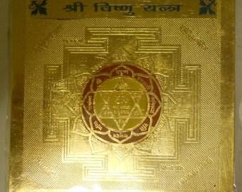 Vishnu Yantra - White Light Protection and Blessings