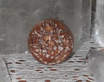 Betel Nut Carved Lord Ganesha