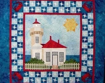 Mukilteo Lighthouse Pattern to Make, LAM Designs, DIY Quilting Sewing