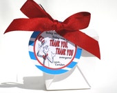 DR. SEUSS Birthday Favor Label / Tag Printable