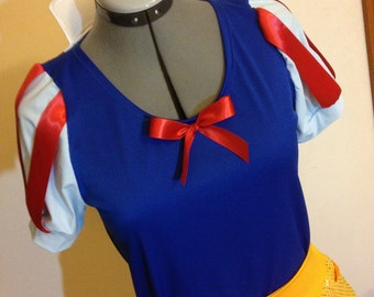 Princess Running Costume Shirt and Skirt