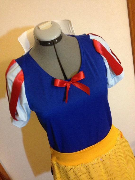 Princess Running Costume Shirt and Skirt