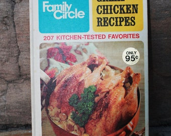 Family Circle Great Chicken Recipes 1968