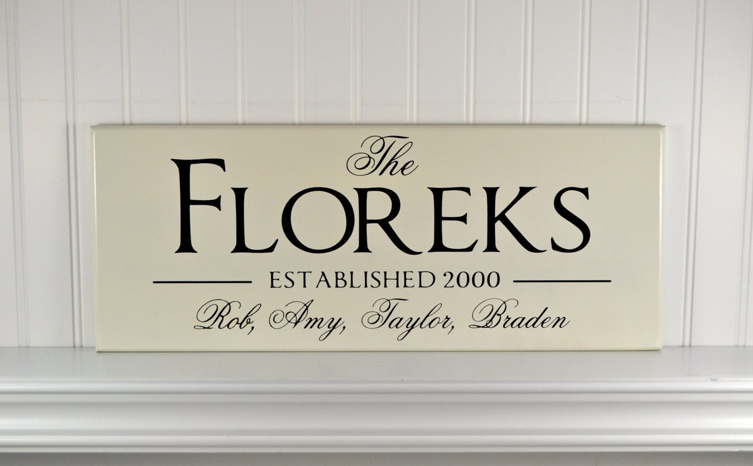 Personalized signs personalized family name signs for Last name pictures architecture