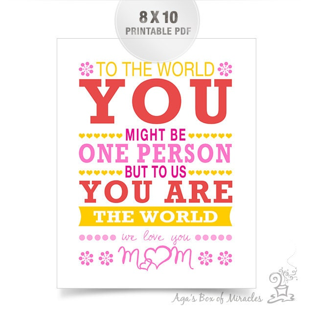 I Love You Quotes Pdf : Love You Mom Quotes We love you mo.