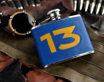 Vault 13 Fallout flask 6oz