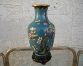 Vintage Mid Century/Hollywood Regency Asian Vase