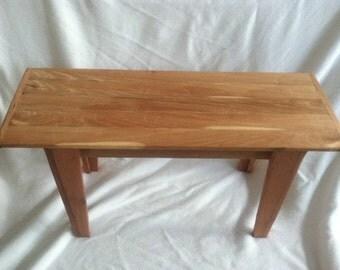 Reclaimed Maple/Cedar Side Table
