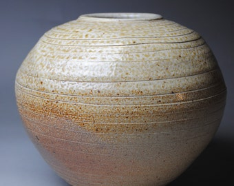 Clay Vase Wood Fired  C45
