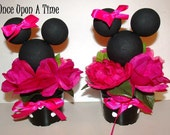 2 Minnie Mouse Party Decorations Hot Pink