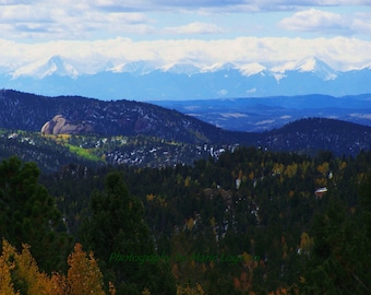 Colorado Rocky Mountains in the Fall. Photography by Marie Logston.