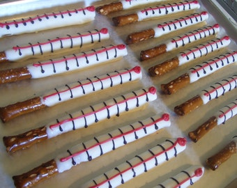 Medical Theme Chocolate Covered Pretzel Rods Red or Pink Thermometers or Medicine Mini Oreos or Nutter Butters Medicine 1 dozen