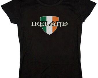 Ladies t-shirt / Ireland Crest