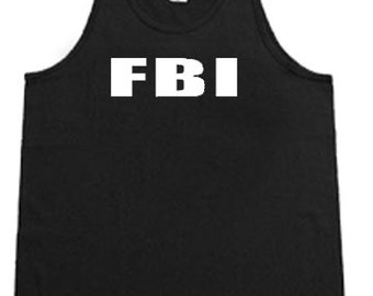 FBI / Mens Tank top or Sleeveless T-shirt