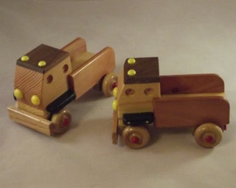 Toy Truck  wooden Handcrafted.. Perfect for any size to play.