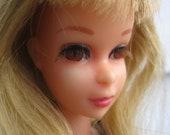 Vintage Barbie, cute Francie doll from the 60's