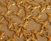 12 pc. Tiny Swooping Bird, 10mm by 9mm - made in USA | RB-058