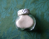 Real Florida Sand in Glass Jar Decoration