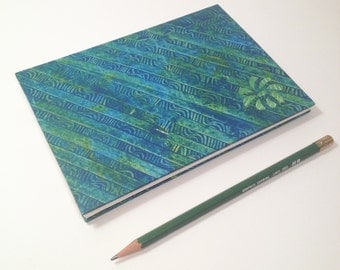 Blue Flower Hardcover Sketchbook