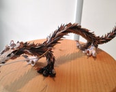 Spikescale Dragon - A 3D creation brought to life in polymer clay.