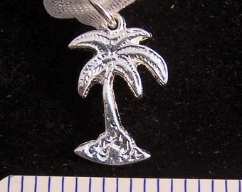 Palm Tree - Wedding Cake Pull Charm -Your life will be filled with sunny skies - 651