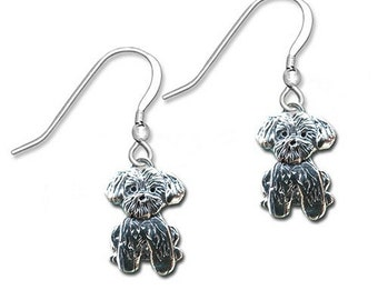 SS Lhasa Apso Earrings
