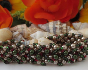 Wonderful Beadweavedl bracelet