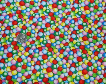Dandy Candy Gumballs - Fabric By The half Yard