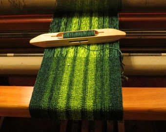 Vibrant Shades of Green Chenille Scarf