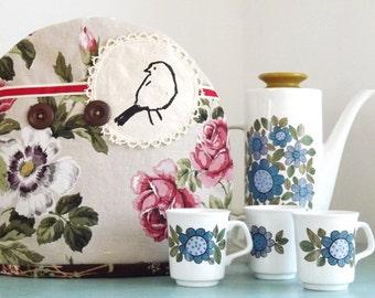 Screen Printed Bird Tea Cosy