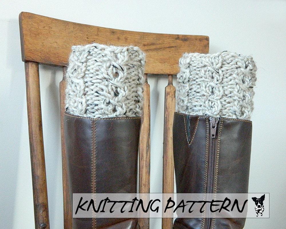 Boot toppers free knitting pattern yaasfo for boot cuff knitting pattern boot topper pdf knitting pattern bankloansurffo Gallery