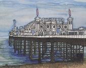 Brighton Pier 3, Giclee Print