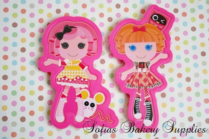 Lalaloopsy Cake Decorating Kit : LaLaloopsy cake topper Cookie cutter
