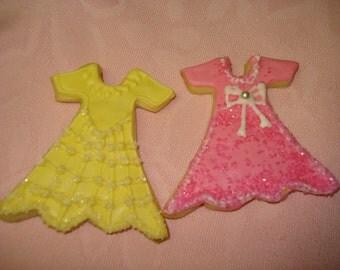 Princess Decorated Vanilla Sugar Cookies - 1 Dozen