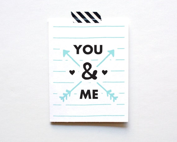 Friendship Card, You and Me, Thinking of You