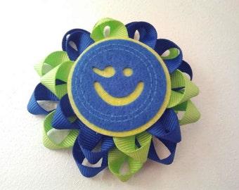 Hairclip - Pinwheel Emoticon
