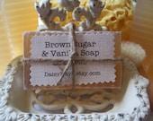 Brown Sugar and Vanilla Soap ~ Fall, Autumn, Holidays, Christmas Gift, Favors, Parties, Home, Decor, Bath, Birthday, ACOFT,  OFG team, WIB - DaisyKays