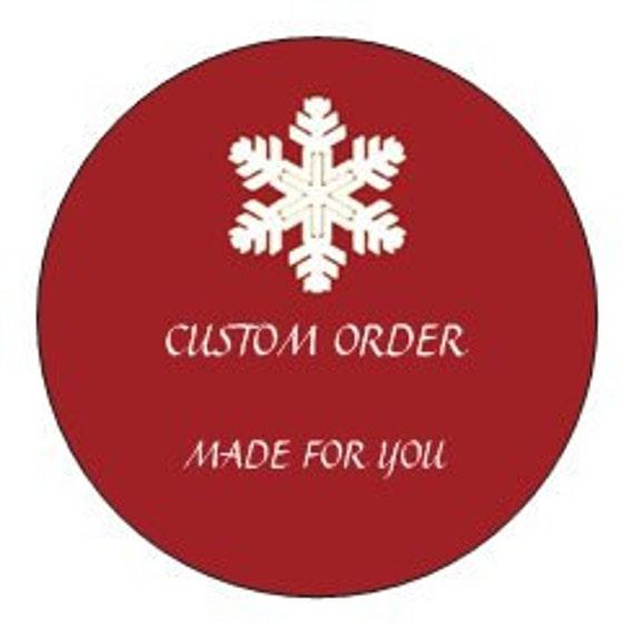 RESERVED For JEN Only, Custom order