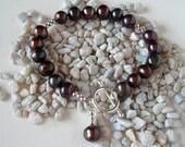Black Pearl Bracelet - Fresh Water Pearl Bracelet, The Darling