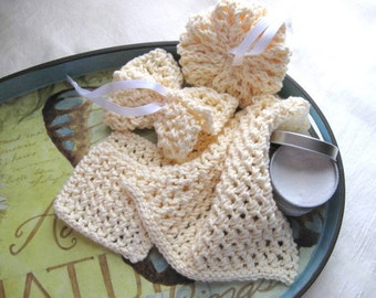 Cholla Spa Set - PDF Knitting Pattern - Instant Download
