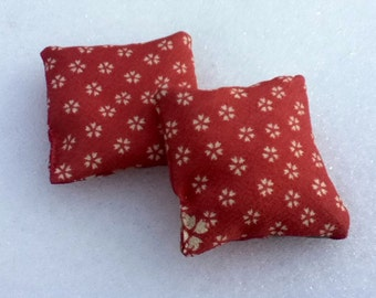Sakura Hand warmers - featured in Chatelaine Hot and cold therapy rice bags for eyes or small injuries- Valentine Gift