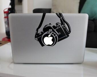 Camera Mac Decal Sticker for Apple MacBook