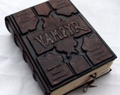 The Vampire's journal, leather book, mistery, Buffy, Vampyr