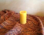 """2"""" x 3"""" Beeswax Pillar Candle"""