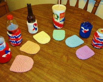 6 Piece Drink Cozy Set